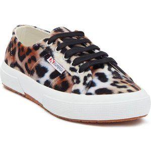 Superga 2750 Multi Leopard Print Sneaker